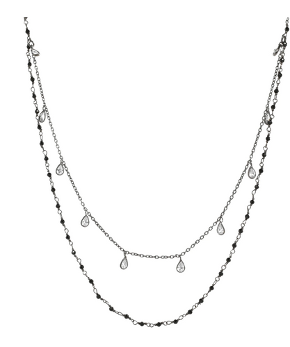 2 Tiered Necklace - Accent's Novato