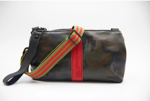 Nancy Wristlet with Cross Body Strap - Accent's Novato