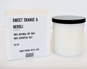 Sustainable Soy Wax Candle - Accent's Novato