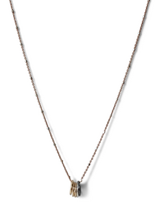 Modern Ring Necklace - Accent's Novato