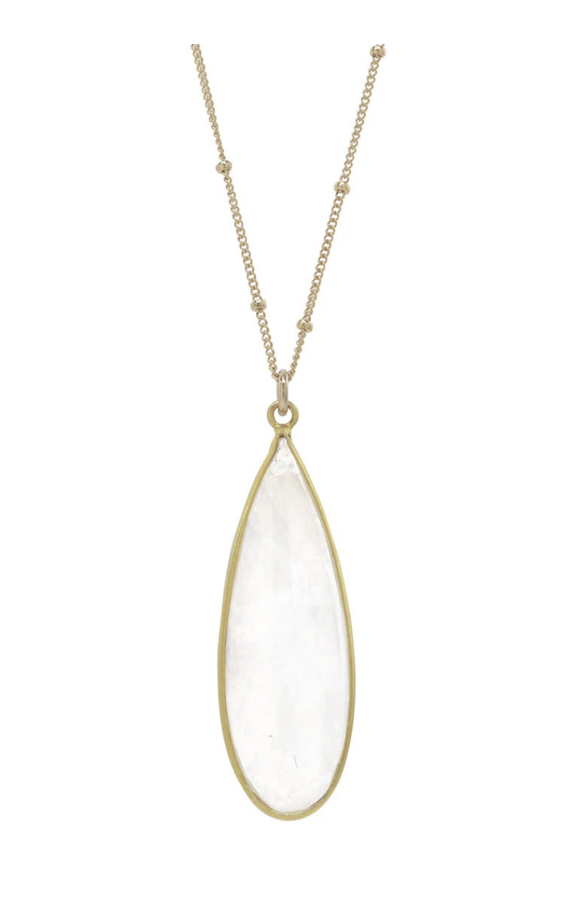 Rainbow Moonstone Necklace - Accent's Novato