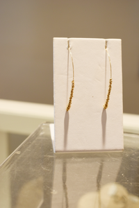 Cattail earrings - Accent's Novato