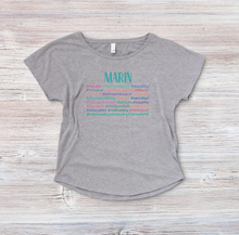 Load image into Gallery viewer, Marin Hashtag T shirt - Accent's Novato