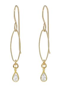 Oval LInk Earrings