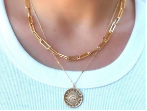 Large Link Necklace