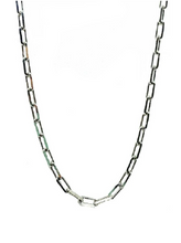Load image into Gallery viewer, Thin Link Necklace - Accent's Novato