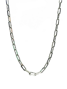 Thin Link Necklace - Accent's Novato