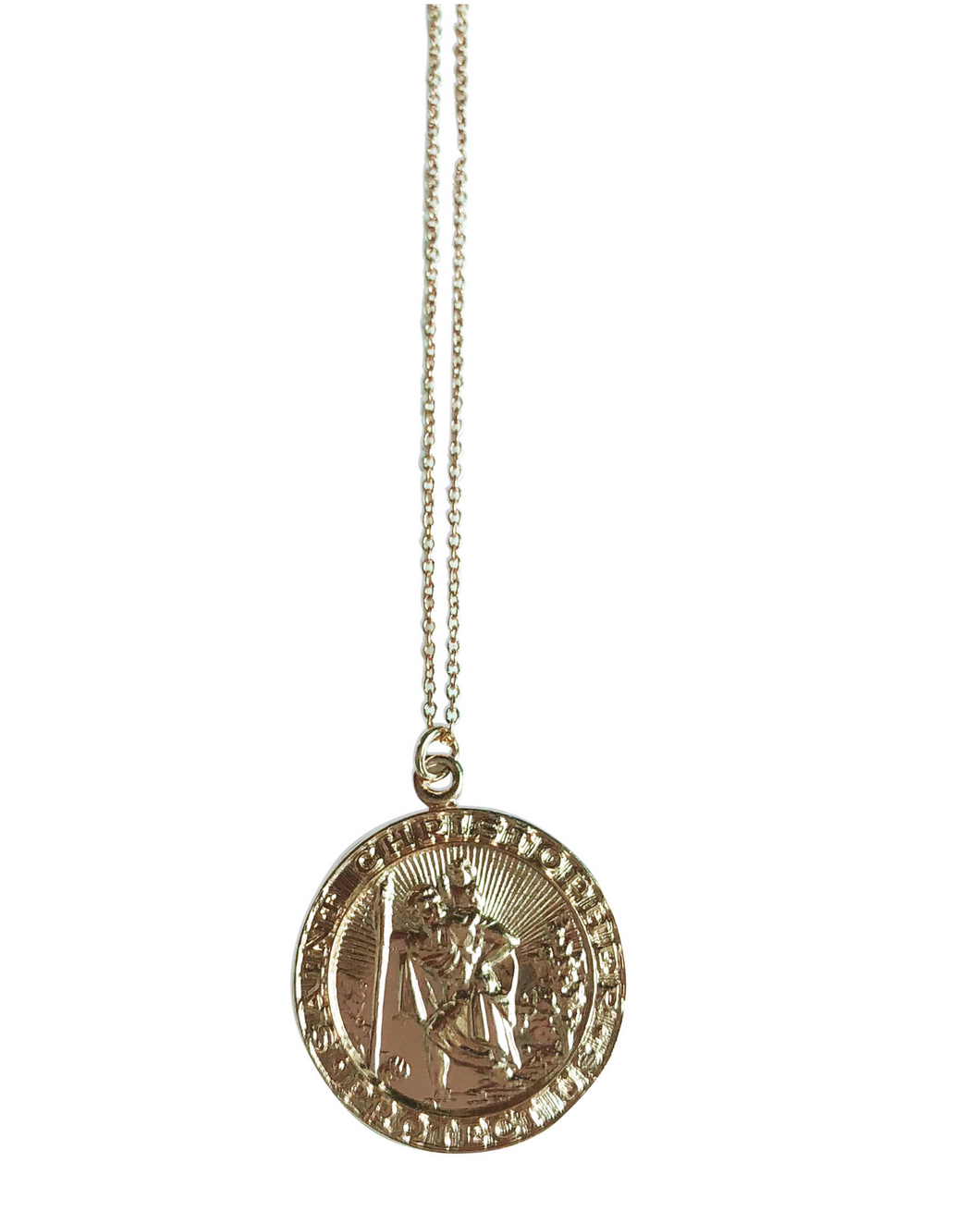 St Christopher Necklace - Accent's Novato