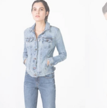 Load image into Gallery viewer, Abbie Fitted Denim Jacket