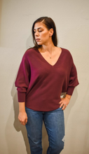 Load image into Gallery viewer, Ryu Sweater V Neck - Accent's Novato