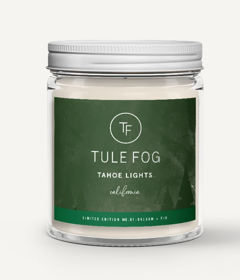 Tule Fog Holiday Candles