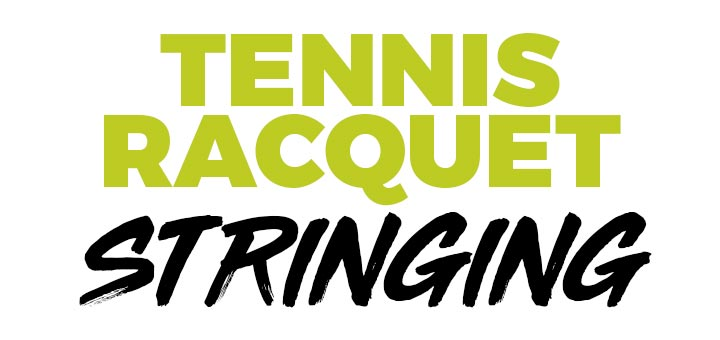 Tennis Racquet stringing