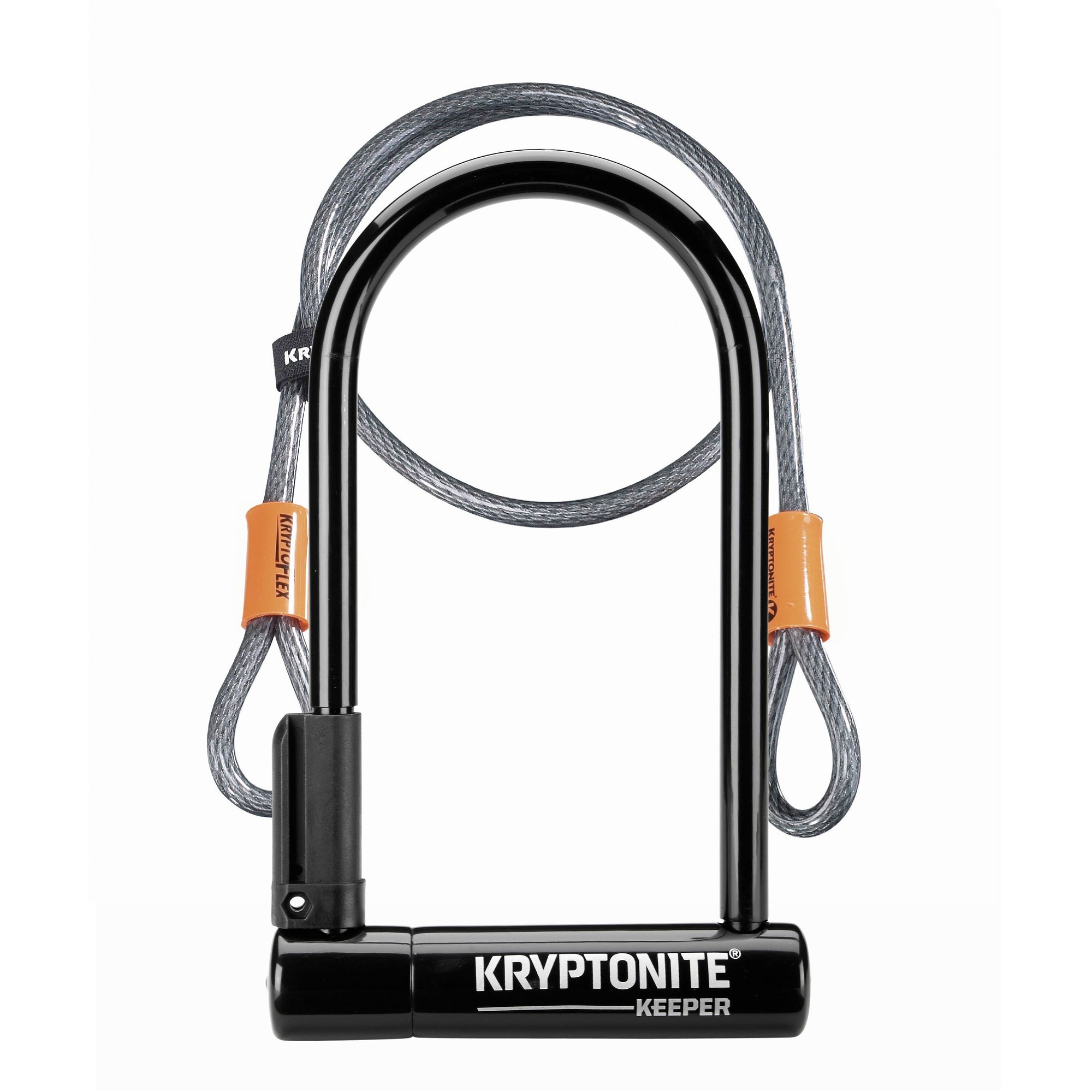 Kryptonite KEEPER 12 STD with 4' Cable Lock
