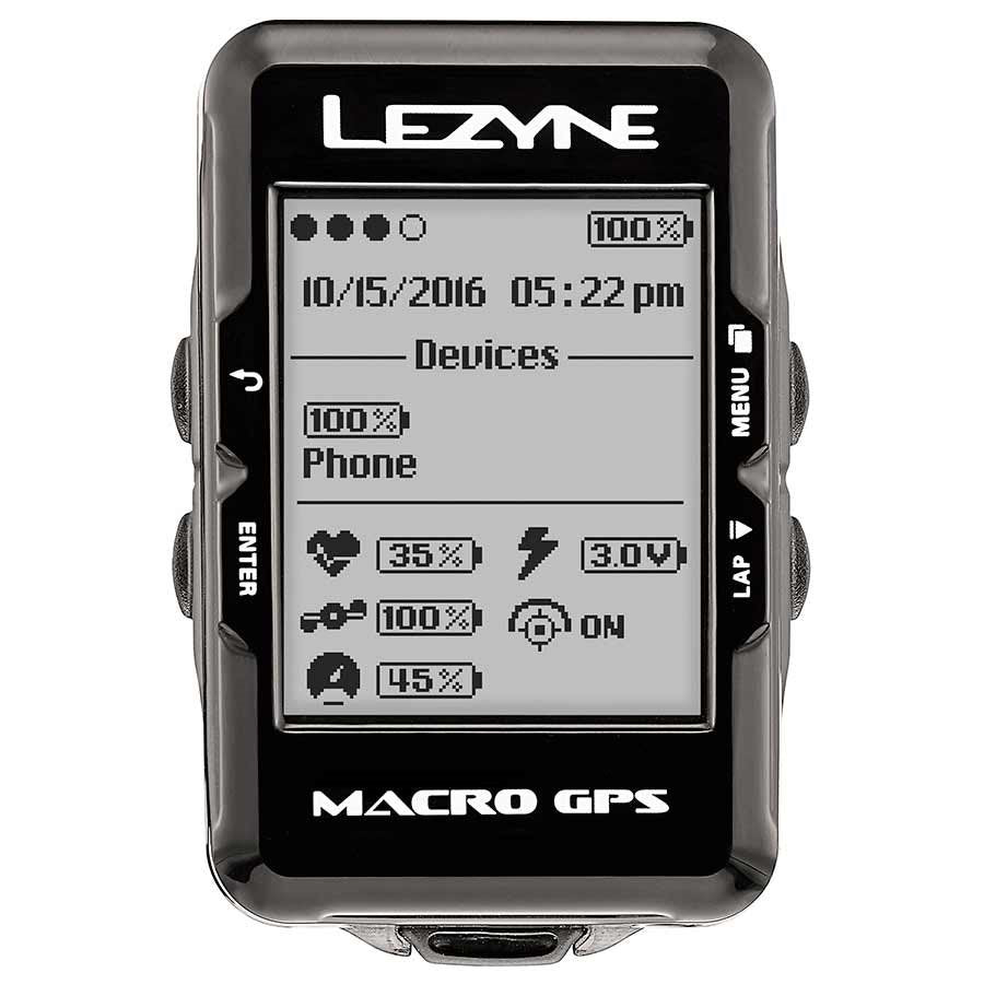 Lezyne Macro GPS Computer-Bike Accessories-Kunstadt Sports