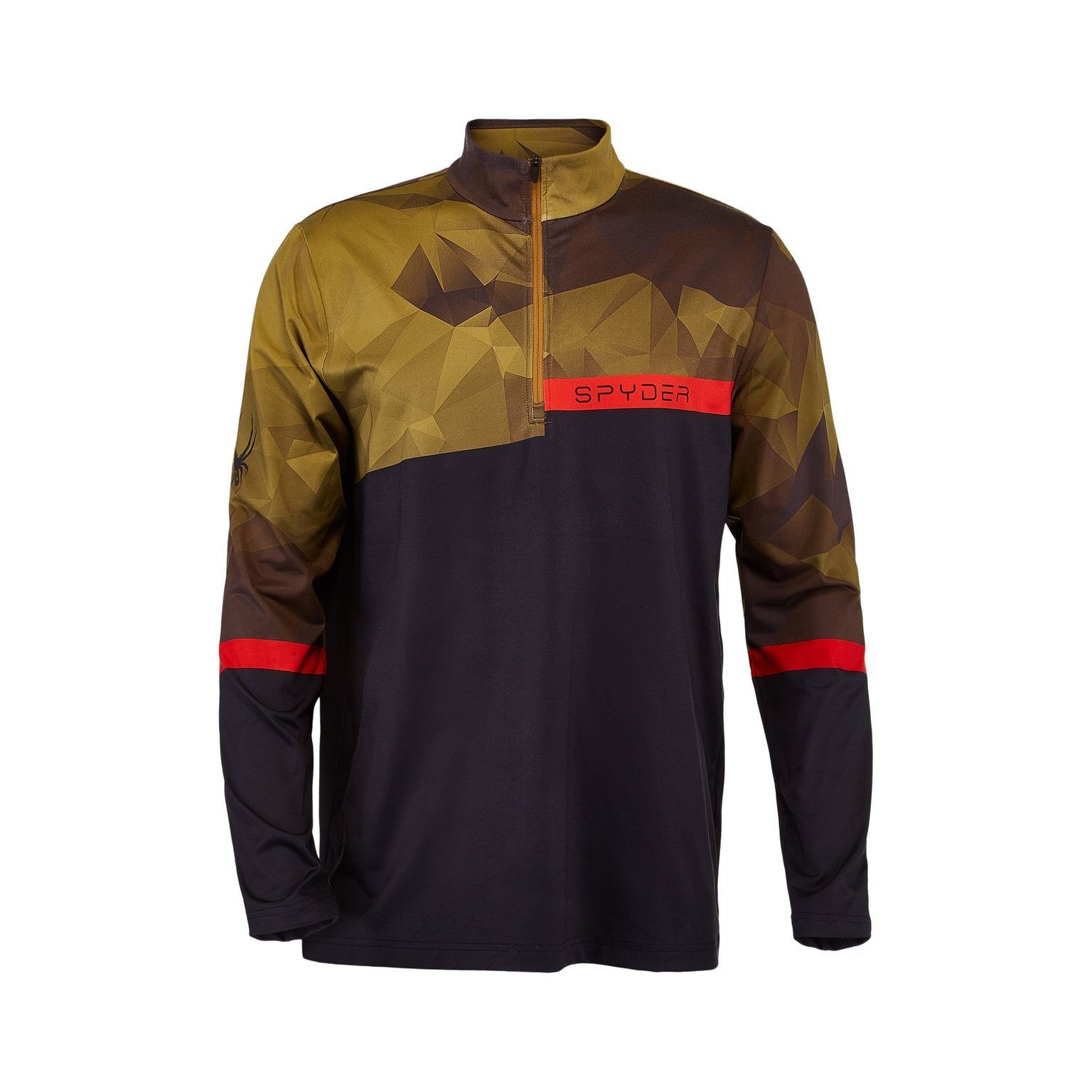 Spyder 2021 Men's PARAMOUNT Zip T-Neck
