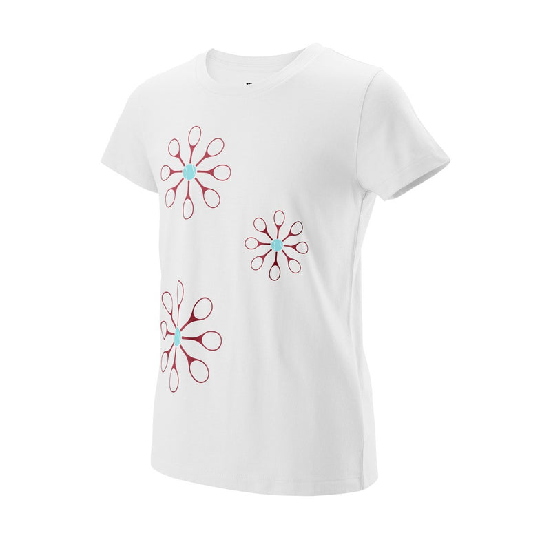 Wilson 2019 Junior Floret Tech Tee