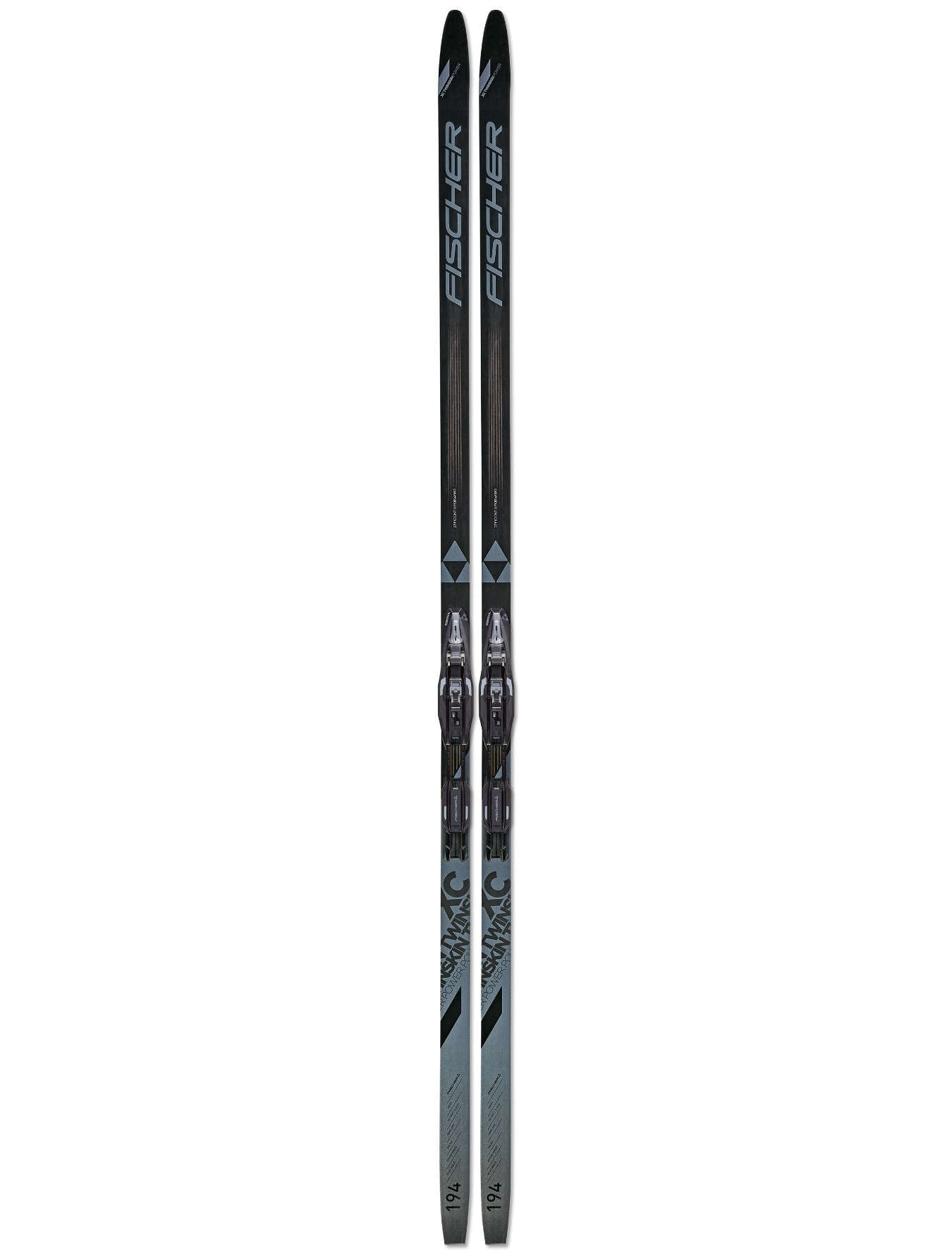 Fischer 2021 TWIN SKIN POWER MEDIUM EF IFP Ski + Tour Step In Binding