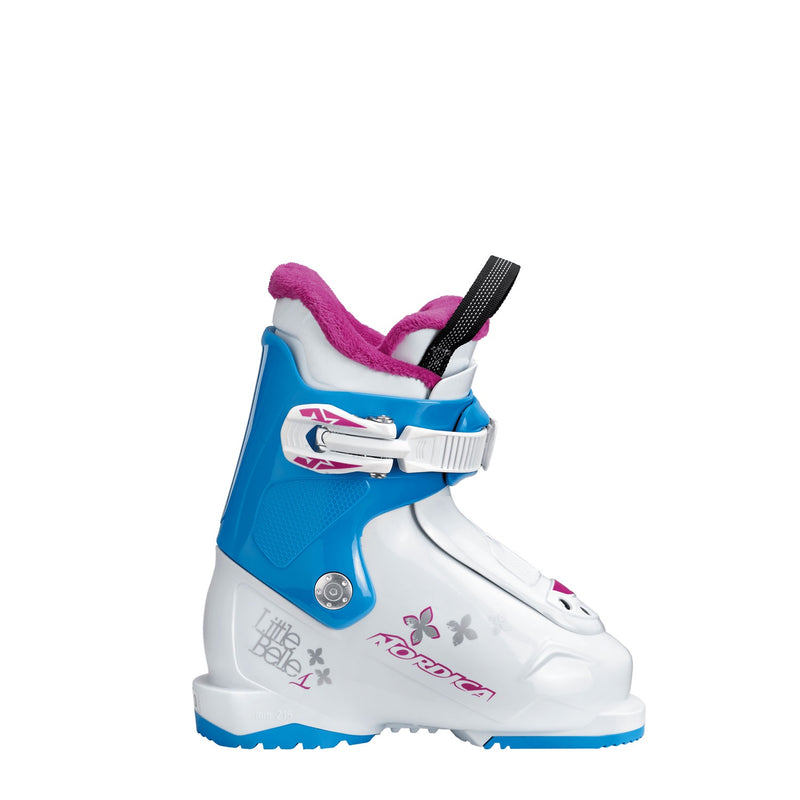 Nordica 2019 LITTLE BELLE 1 WHITE/LTBL/PURPLE-Alpine Ski Boots-Kunstadt Sports