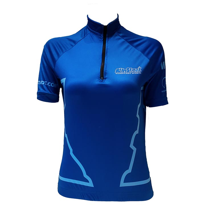 Kunstadt 2021 Blue Cycling Jersey