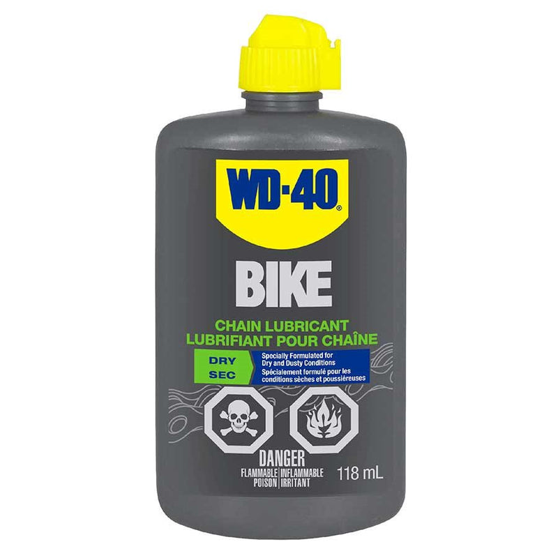 WD-40 Bike Dry Chain lubricant 118ml-Bike Accessories-Kunstadt Sports