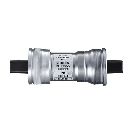 Shimano - BB-UN55 Non Splined BSA 73 Bottom Bracket