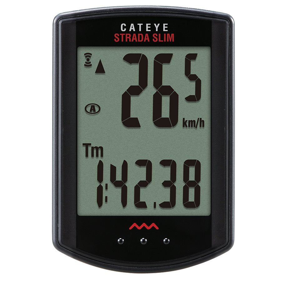 Cat Eye Strada Slim Wireless CC-RD310W Cycle computer-Bike Accessories-Kunstadt Sports