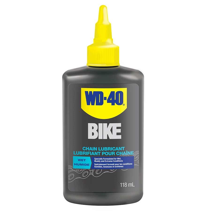 WD-40 Bike Wet Chain lubricant 118ml-Bike Accessories-Kunstadt Sports