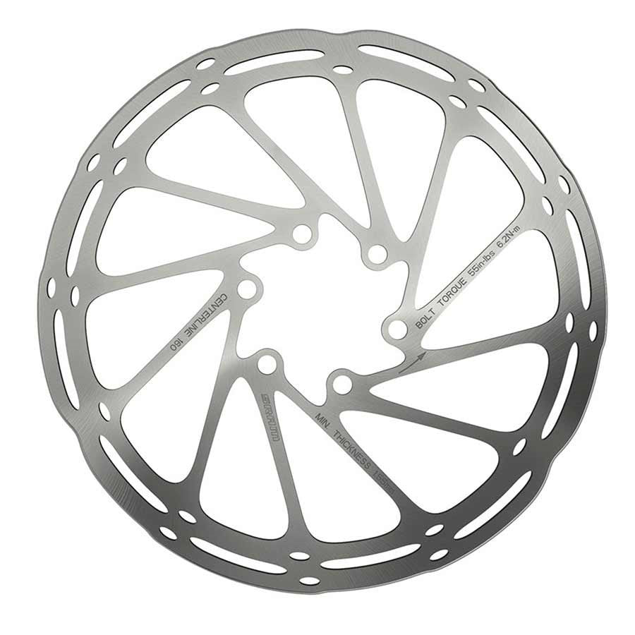 Sram Centerline Rounded Disc brake rotor ISO 6B 160mm