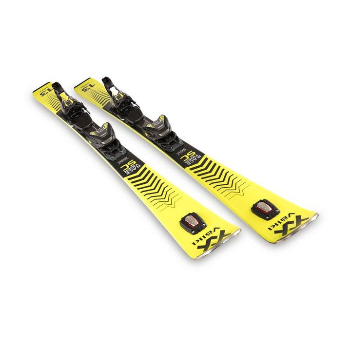 Volkl 2021 Racetiger SC Yellow Ski with VMotion 12 GW