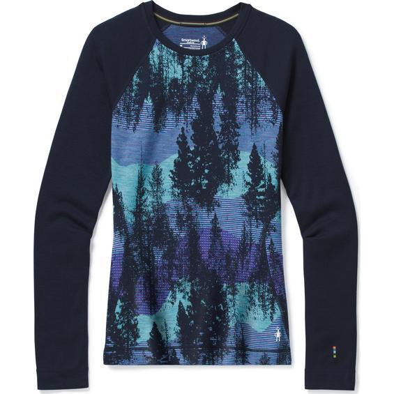 Smartwool 2021 Women's Merino 250 Baselayer Pattern Crew Boxed
