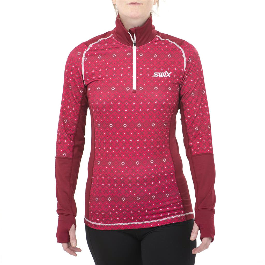 Swix 2020 Myrene Women's 1/2 Zip Nordic Sweater