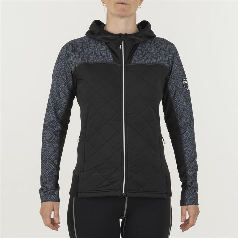 Swix 2021 Women's Myrene Full Zip Quilted Midlayer