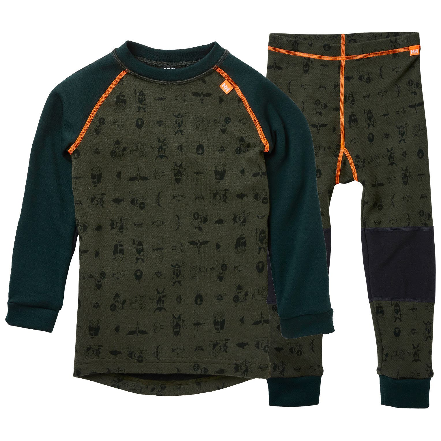 Helly Hansen 2020 Junior Lifa Merino Baselayer Set