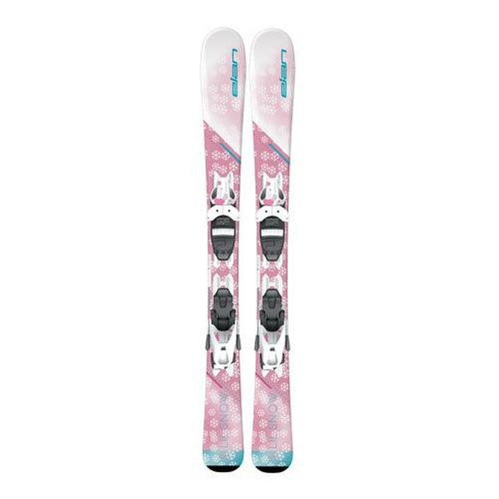 Elan 2020 LIL SNOW QS Ski with EL 7.5 Binding
