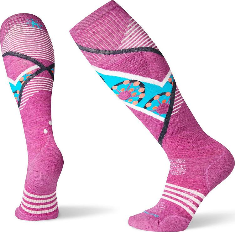 Smartwool 2020 Women's PhD Ski Light Elite Pattern Sock