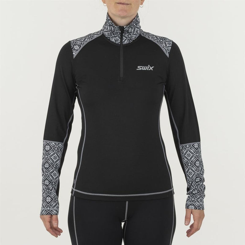 Swix 2021 Women's Myrene 1/2 Zip Midlayer