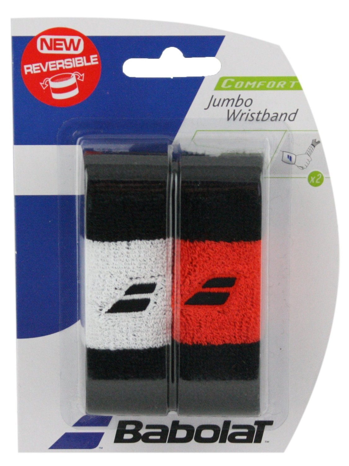 Babolat - Jumbo Tennis Wristband-Tennis Accessories-Kunstadt Sports