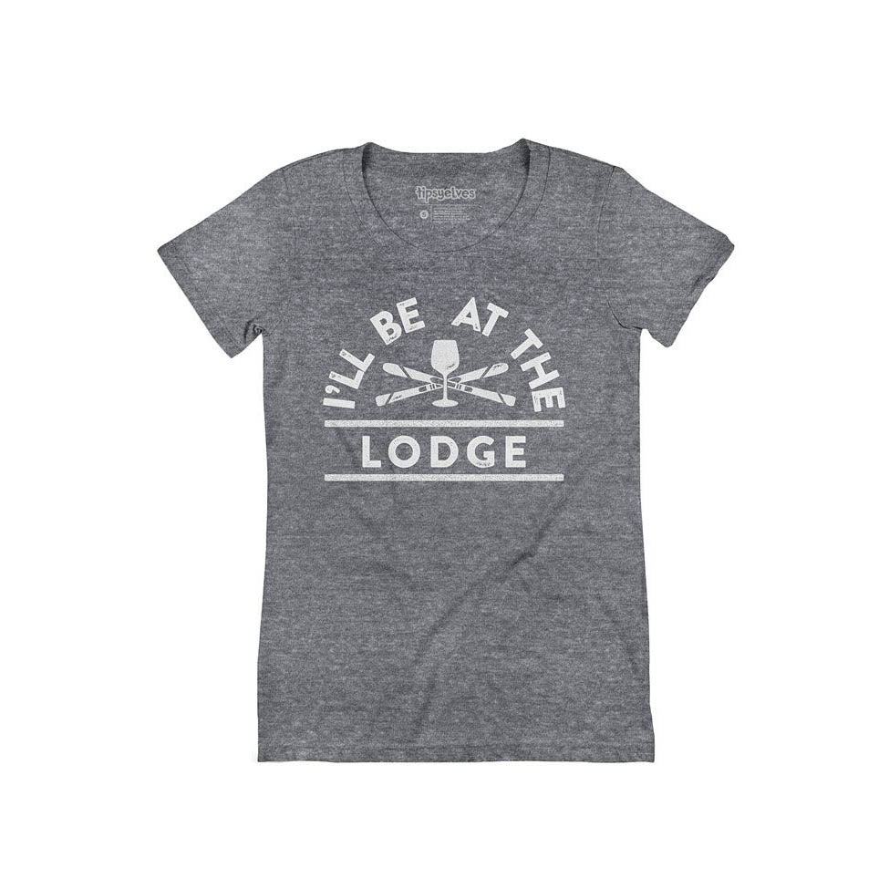 Tipsy Elves Women's I'll Be At The Lodge Tee
