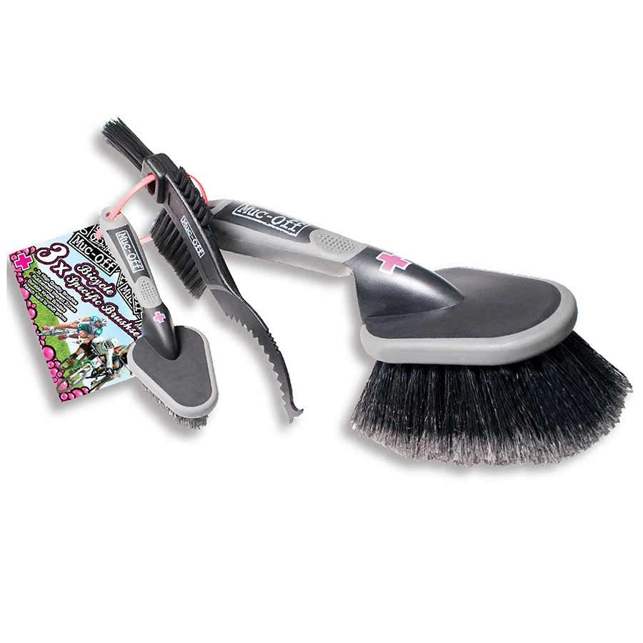 Muc-Off 3 Piece brush set