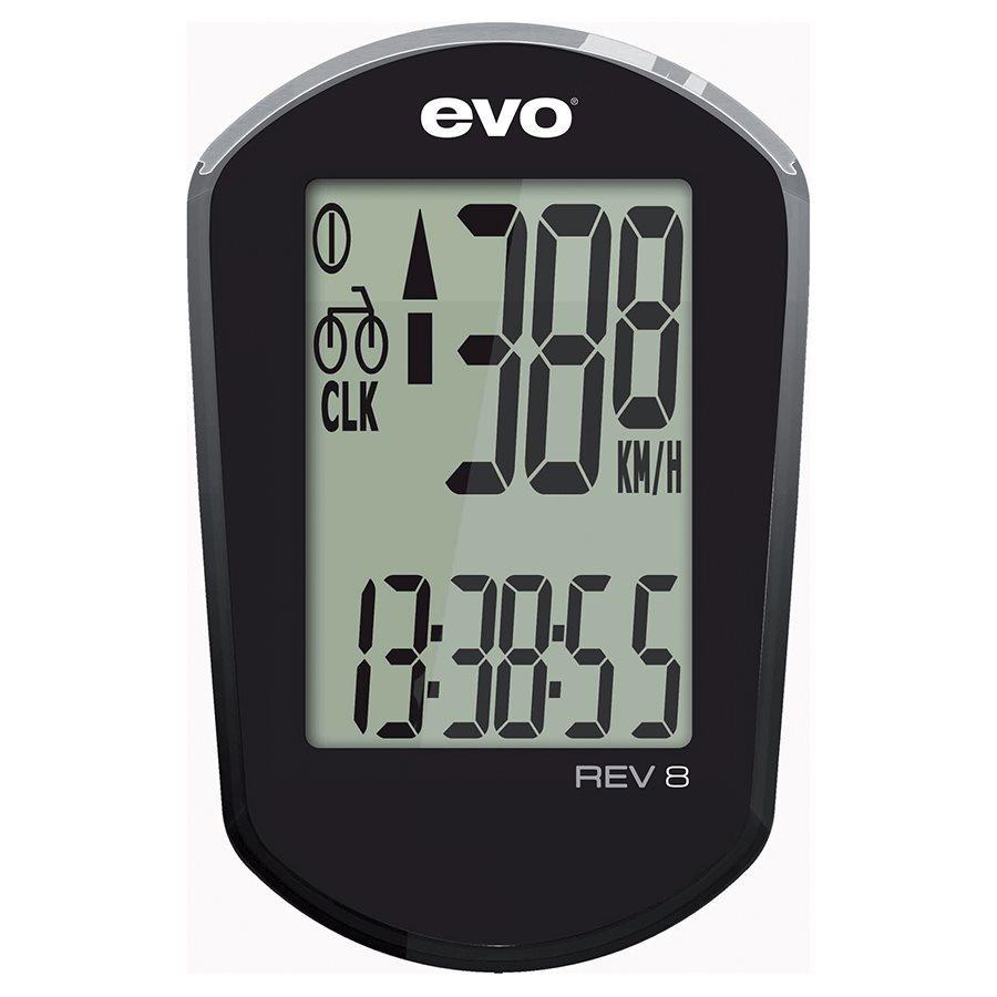 EVO - REV8 Wired Cyclocomputer-Bike Accessories-Kunstadt Sports
