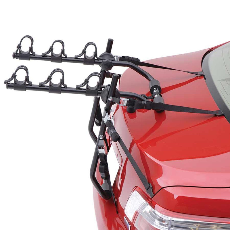 Hollywood Racks Express Trunk Mount Rack Bikes 3 Black