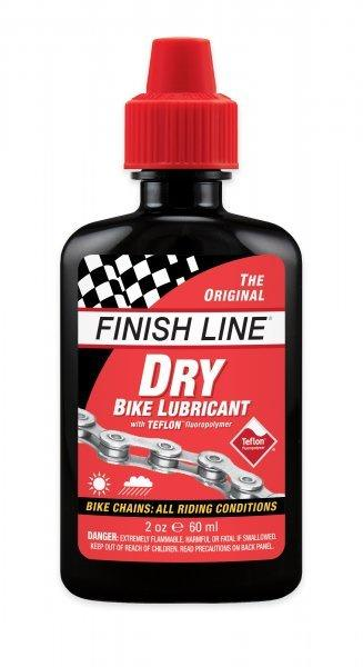 Finish Line - DRY LUBE 2 oz-Bike Accessories-Kunstadt Sports