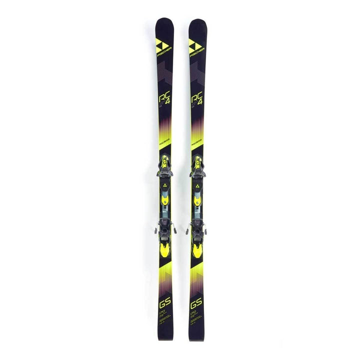 Fischer - 2018 RC4 Worldcup GS Junior Curv Booster-Skis-Kunstadt Sports