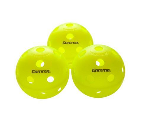 Gamma - Photon Indoor Pickleball Green Pack of 3