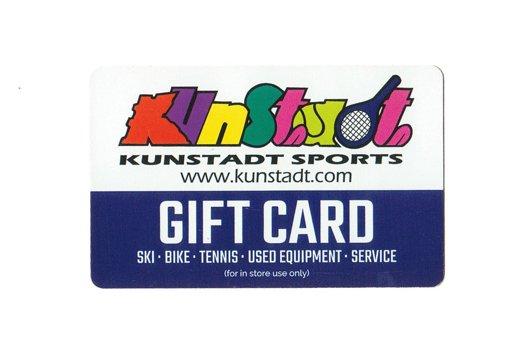 In Store Gift Card-Gift Card-Kunstadt Sports