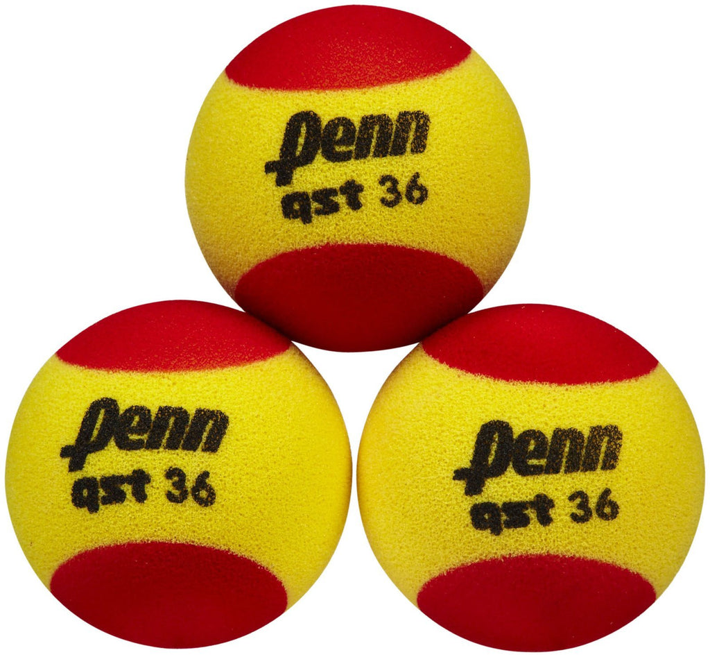 Penn - QST 36 Foam Tennis Balls-Tennis Accessories-Kunstadt Sports