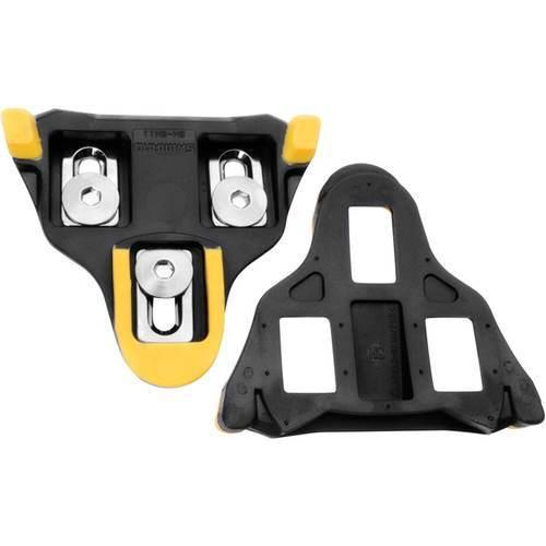 Shimano - SM-SH11 Yellow 6 Degree SPD SL Cleat Set-Bike Accessories-Kunstadt Sports