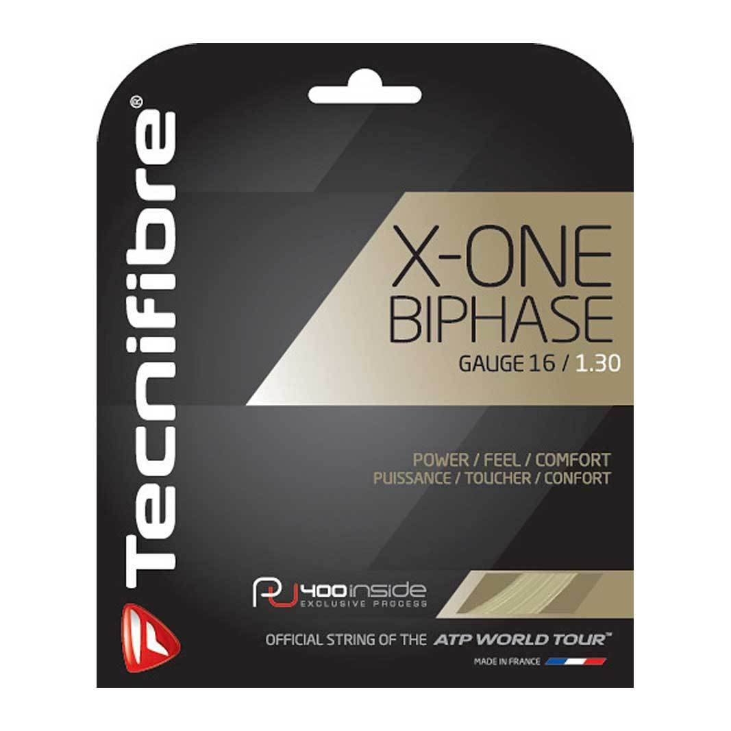 Tecnifibre - X-ONE Biphase Racquet String-Tennis Accessories-Kunstadt Sports