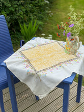 Load image into Gallery viewer, Nuno felted vintage tablecloth II