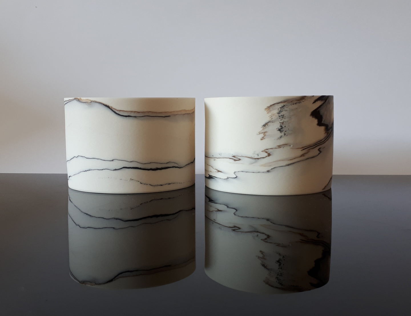 Pair of small vessels
